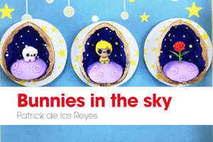 bunnies in the sky, logo