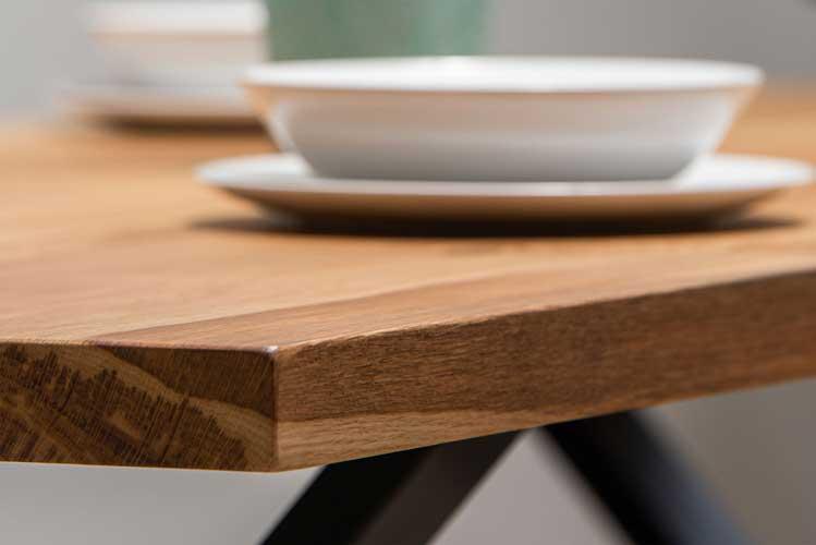 mesa de madera, mesa de madera de roble, decoracion, comerdor, salon de casa, madera, artesania