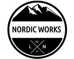 nordic works, logo, tablas de cortar