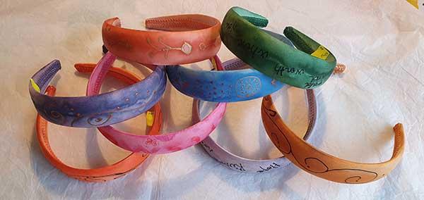Diademas para niñas de colores