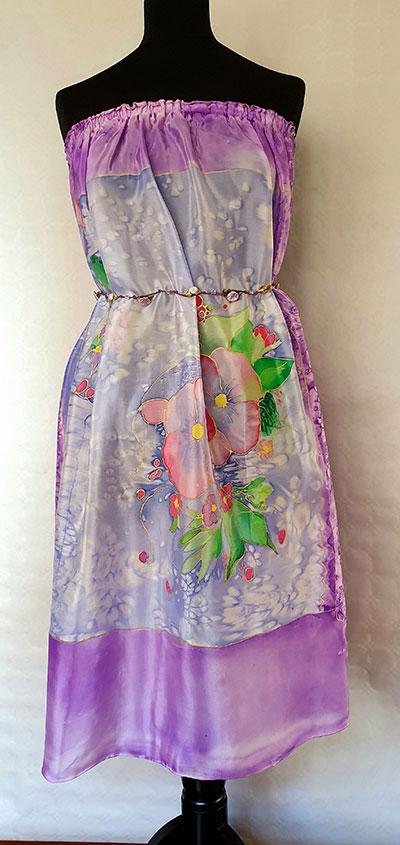 vestidos de seda natural, vestidos de señora