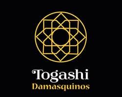 togashi damasquinos, logo, damasquino