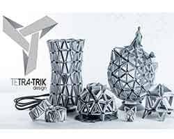 Tetra-Trik, logo, origami modular
