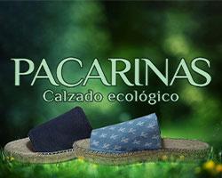 calzados pacarinas. logo, calzado ecológico