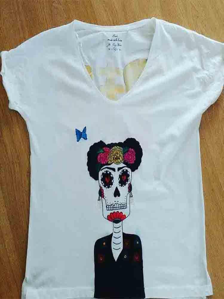 camisetas pintadas, camisetas ecologicas, camisetas pintadas, regalos originales