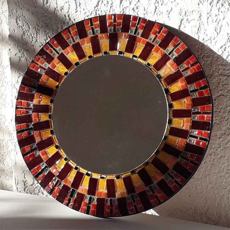 espejos con vitromosaicos