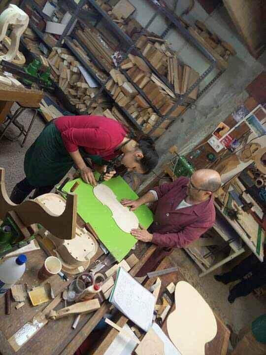 luthiers, reparacion de guitarras, fabricacion de instrumentos musicales
