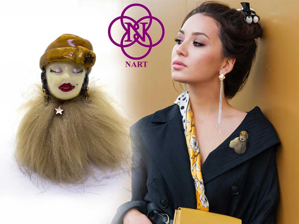 broches de bisutería artesanal, pendientes de mujer, aretes de señora