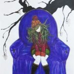 galeria artari, cuadros, retratos, pintura, arte, artesania en cristal