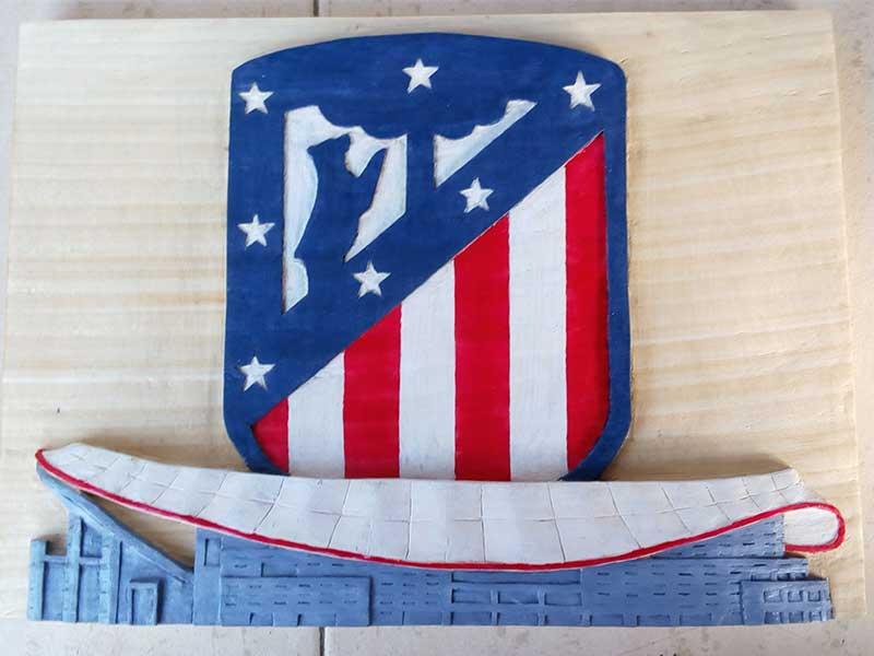 escudos deportivos, esculturas, decoracion para la casa, hogar