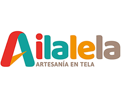 ailalela, logo, mochilas