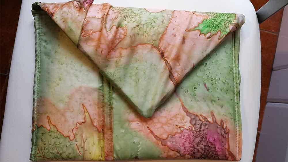 bolsos de seda natural, monedero, bolso de mano, neceser