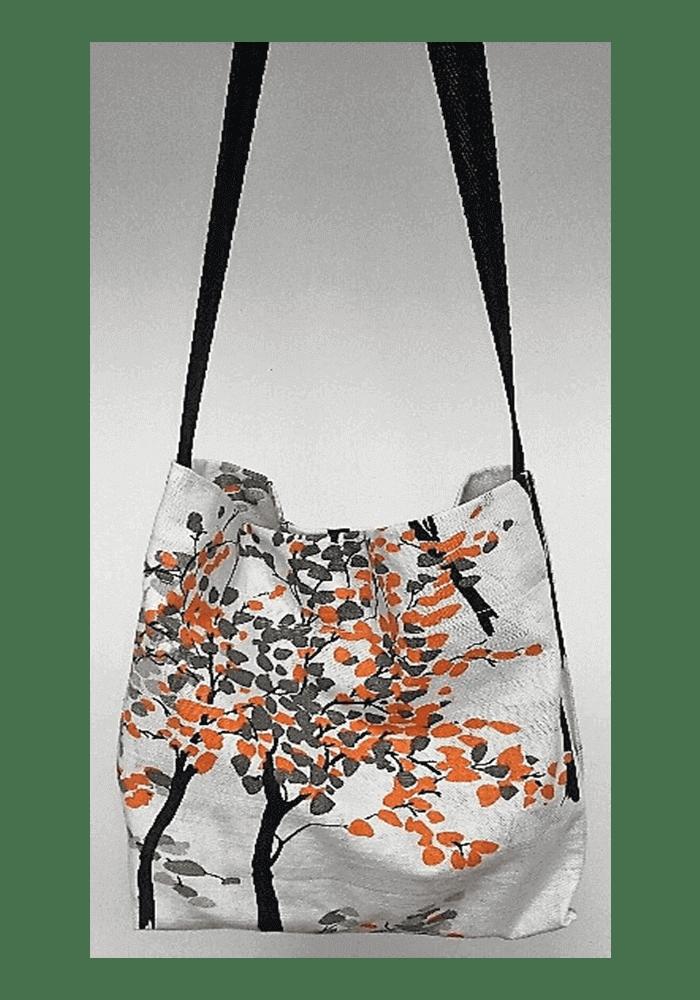 bolsos de tela, mujer, chica, moda, fashion