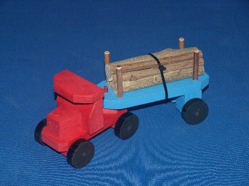 juguetes de madera, camion, niños