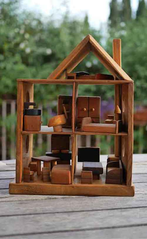 casas de madera para niños