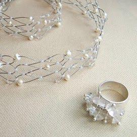 pulseras de piedras naturales, anillos para mujer de plata