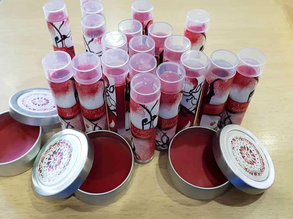 hidratente de labios natural, ecologico