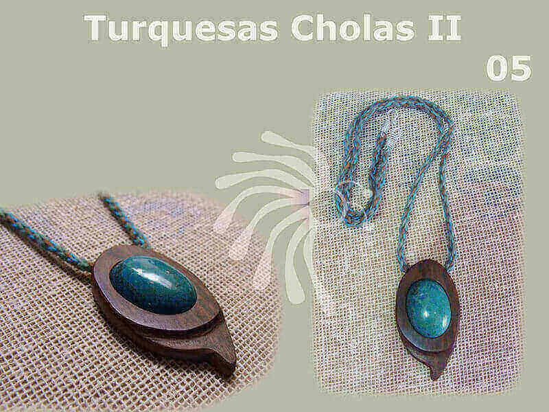 collares para mujer con piedras naturales, turquesa, crisocola