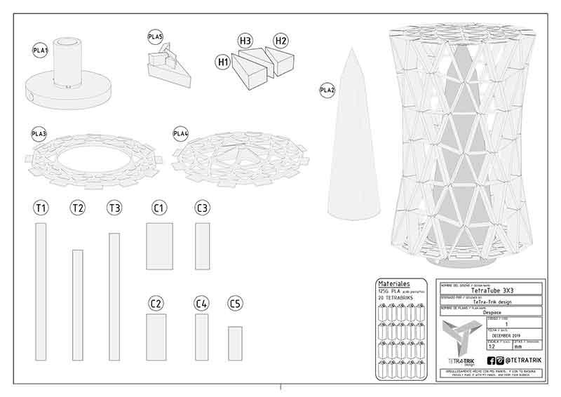 origami modular, decoracion, diseño moderno