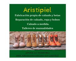 aristipiel, logo, calzado