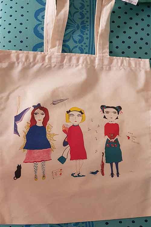 bolsa tote bag, bolsas de tela, bolsas decoradas