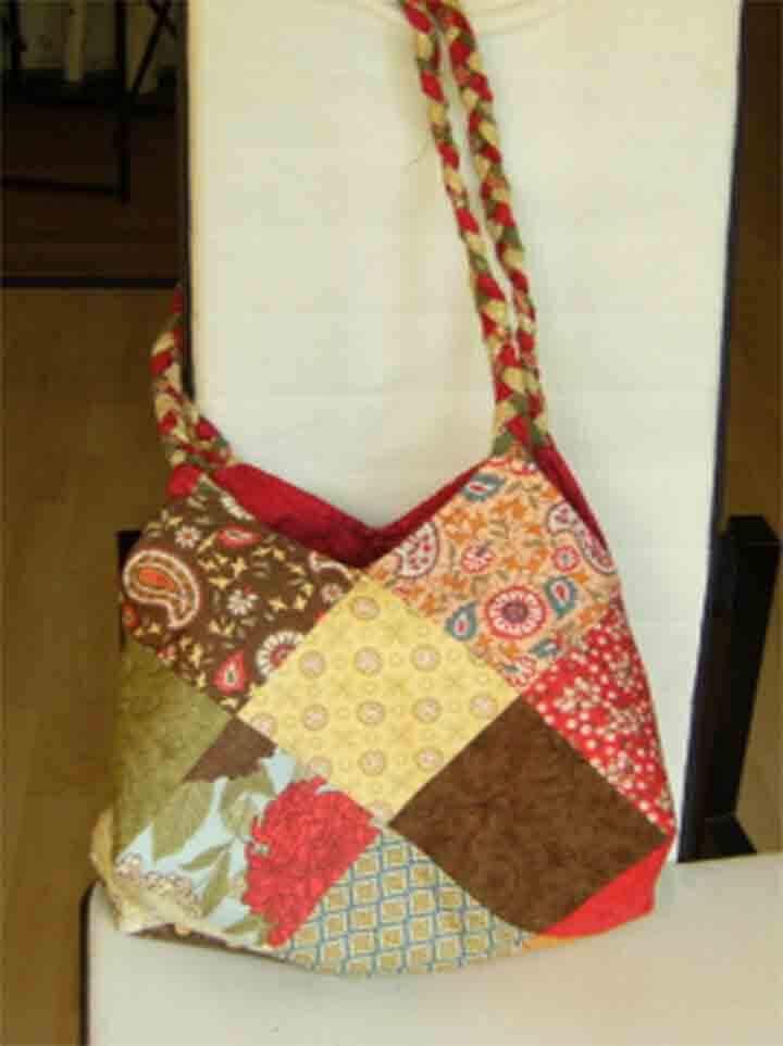 bolsos de patchwork, moda, mujer