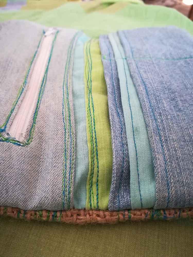 bolsos de tela, bolsos de mujer, reciclaje textil