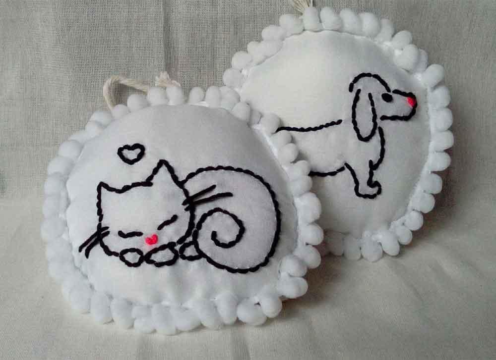productos de lana para decoracion