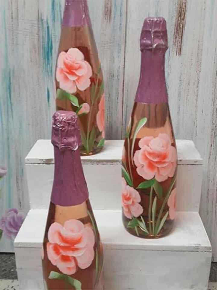 botellas decoradas, decoracion