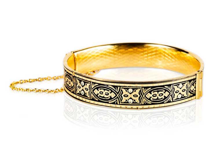 damasquino, damasquinado, joyas, anillos, colgantes