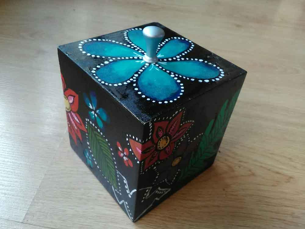 cajas de madera, cajas de coradas