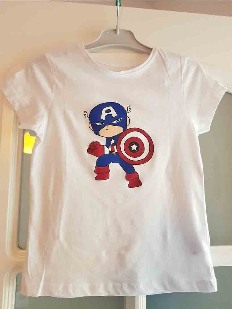 camisetas personalizadas, camisetas pintadas, camisetas decoradas, chicos, chicas