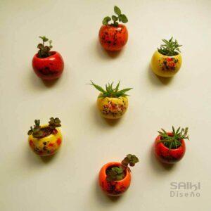 maceteros de diseño, tiestos, plantas, flores