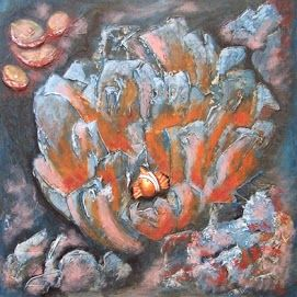 pintura al oleo, cuadro sobre lienzo