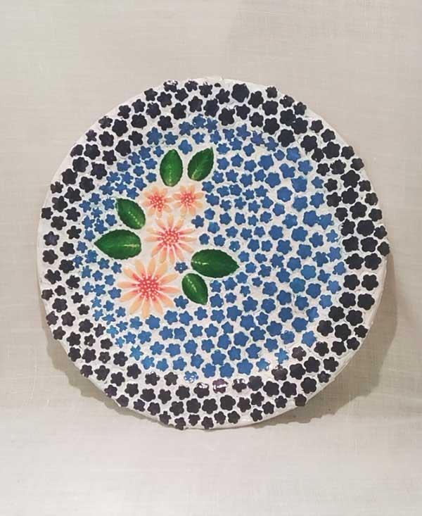 decoracion con mosaiquismo, cajas, vasos, bandejas, cuadros
