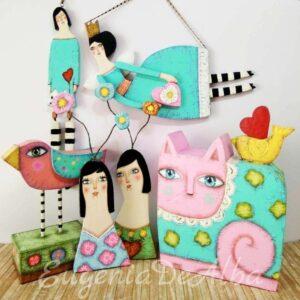 carton, esculturas, diseño, artesania