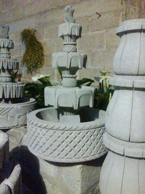 piedra, canteria, fuentes de piedra,