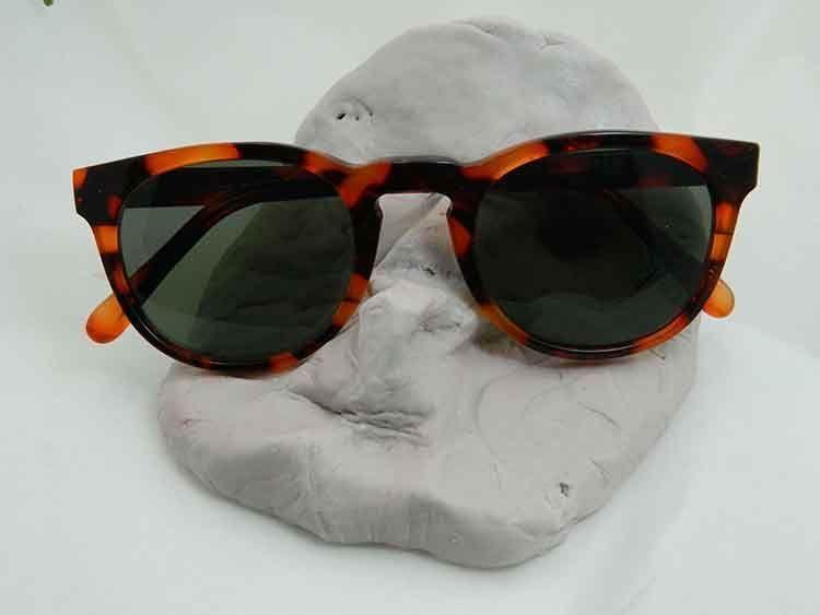 gafas, acetato, diseño, complemento, moda, mujer