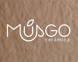 Musgo cerámica, logo