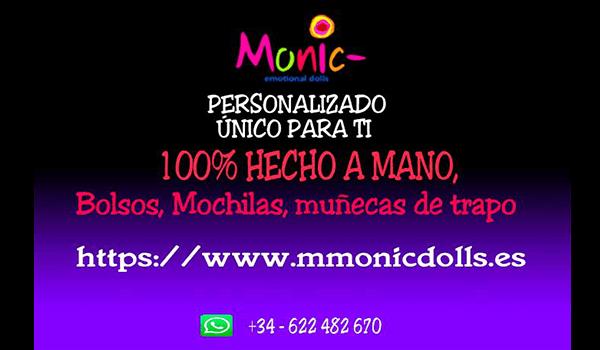 mmonicdolls, logo, regalos personalizados