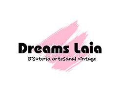 dreams laia, logo, bisutería vintage