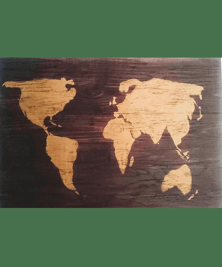 capriccio, decoración, casa, hogar, madera, mapas de madera