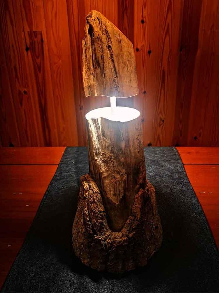 iluminacion para el hogar, luces led, artesania reciclada en madera, decoracion para la casa
