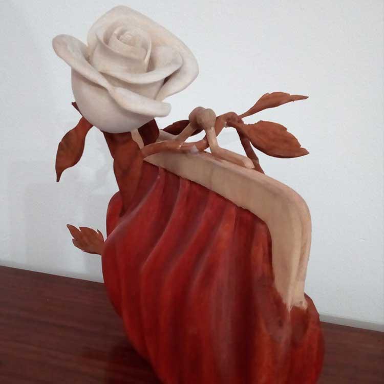 flores de madera, decoracion para el hogar, casa, regalos originales, monedero de madera