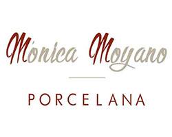 monica moyano, logo, porcelana