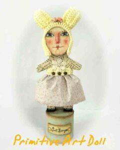 cartapesta, muñeca, artesania