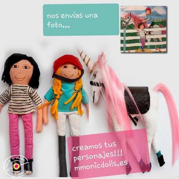 regalos personalizados, muñecos, regalos originales, artesania, dibujos personalizados
