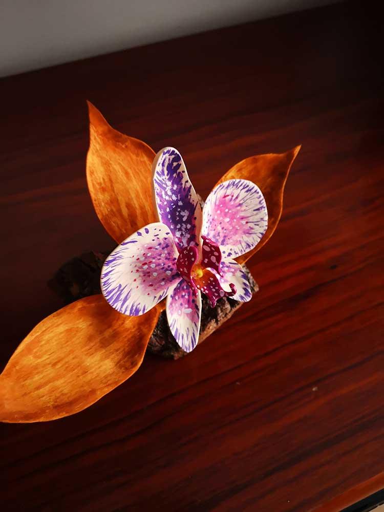 regalos originales, artesania, decoracion para la casa, flores, orquideas