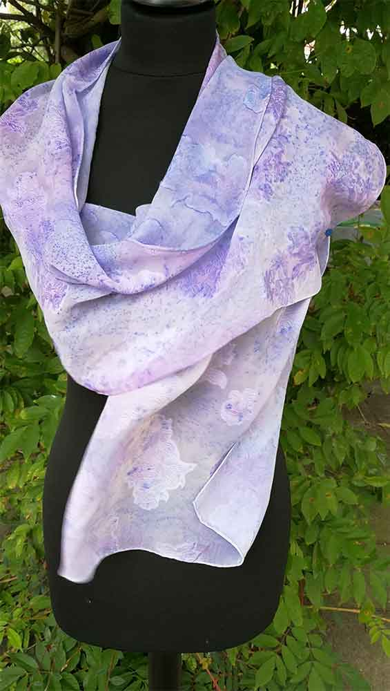 kaftan, pañuelo largo de señora, fular, foulard