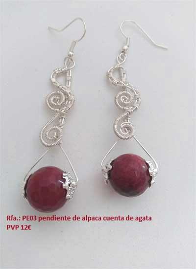 pendientes de señora, pendientes con piedras preciosas, aretes, zarcillos
